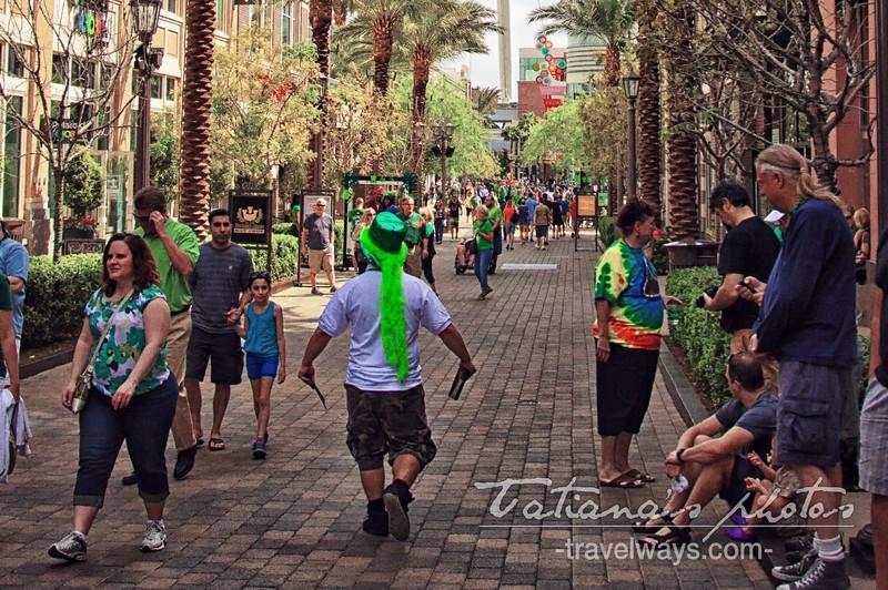 St.Patrick's Day Las Vegas at Linq Promenade