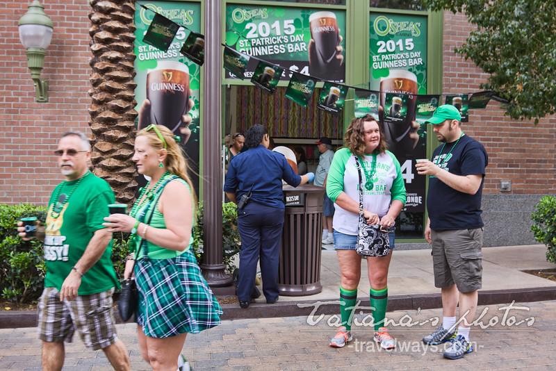 St.Patrick's Day Las Vegas on Linq Promenade