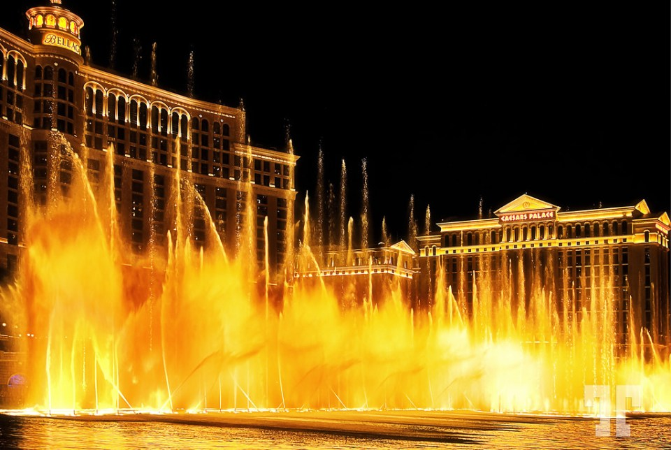 Bellagio water Fountains show Las Vegas