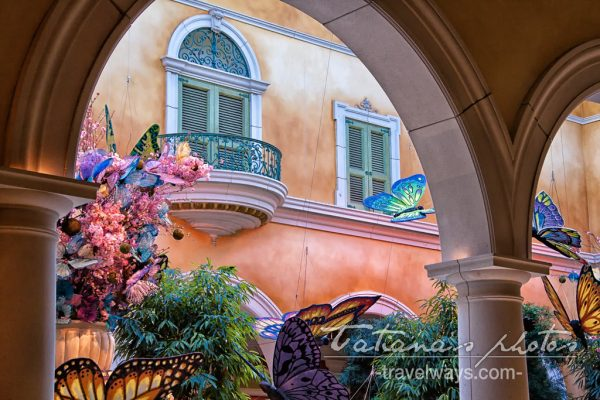 Bellagio Botanical Garden Spring - hotel lobby