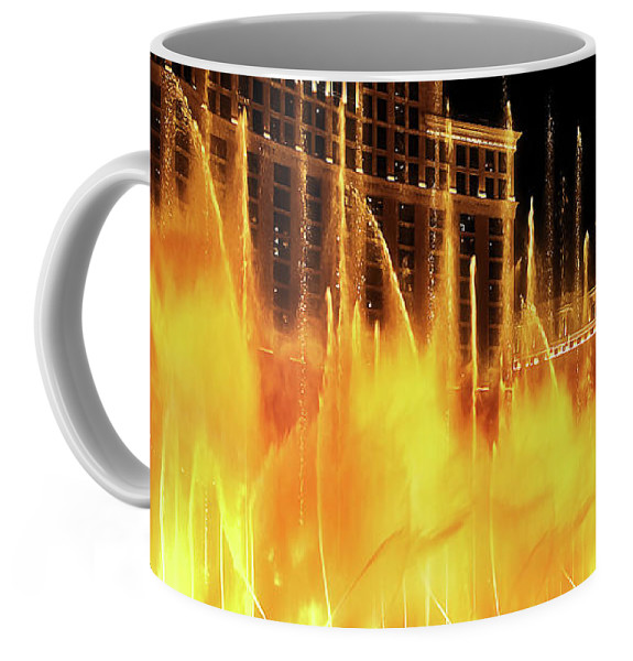 Bellagio Las Vegas Dancing Water Coffee Mug