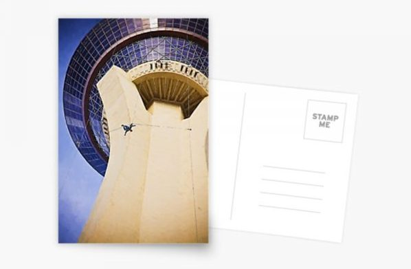 Stratosphere Tower Postcard