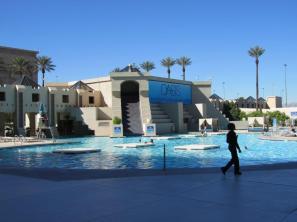 Oasis Pool at Luxor Las Vegas