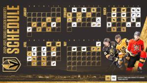 Vegas Golden Knights schedule