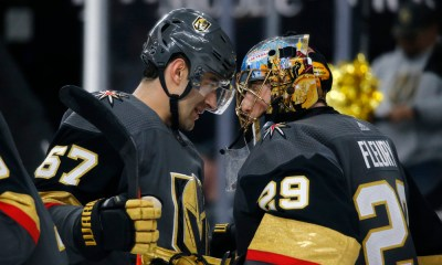 Vegas Golden Knights Marc-Andre Fleury Tom Callahan
