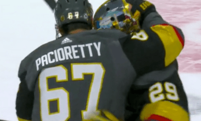 Max Pacioretty Marc-Andre Fleury Vegas Golden Knights