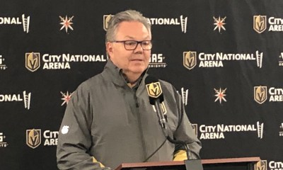 Kelly McCrimmon, Vegas Golden Knights general manager