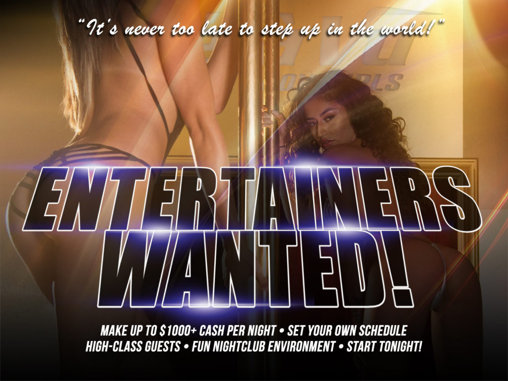 ENTERTAINERS-WANTED