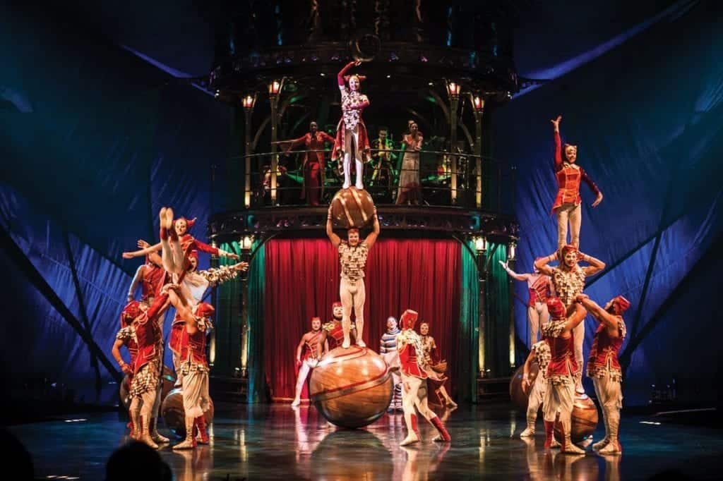 Mystere by Cirque du Soleil - Las Vegas Shows for Kids