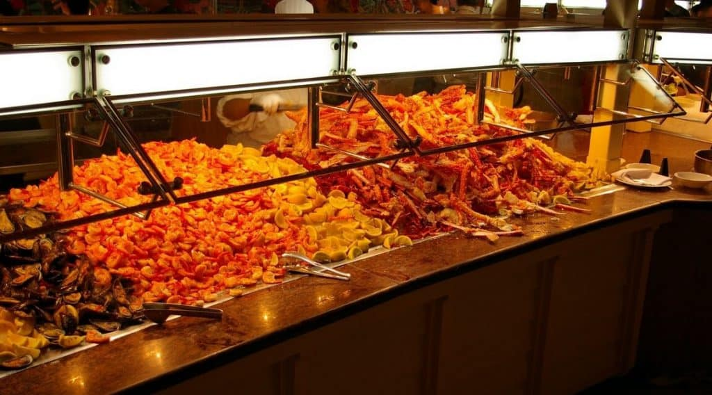 Eat at a Vegas buffet - Must do in Vegas