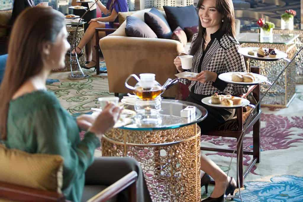 Enjoy some Tea for two or even 12 - Las Vegas Bachelorette Party