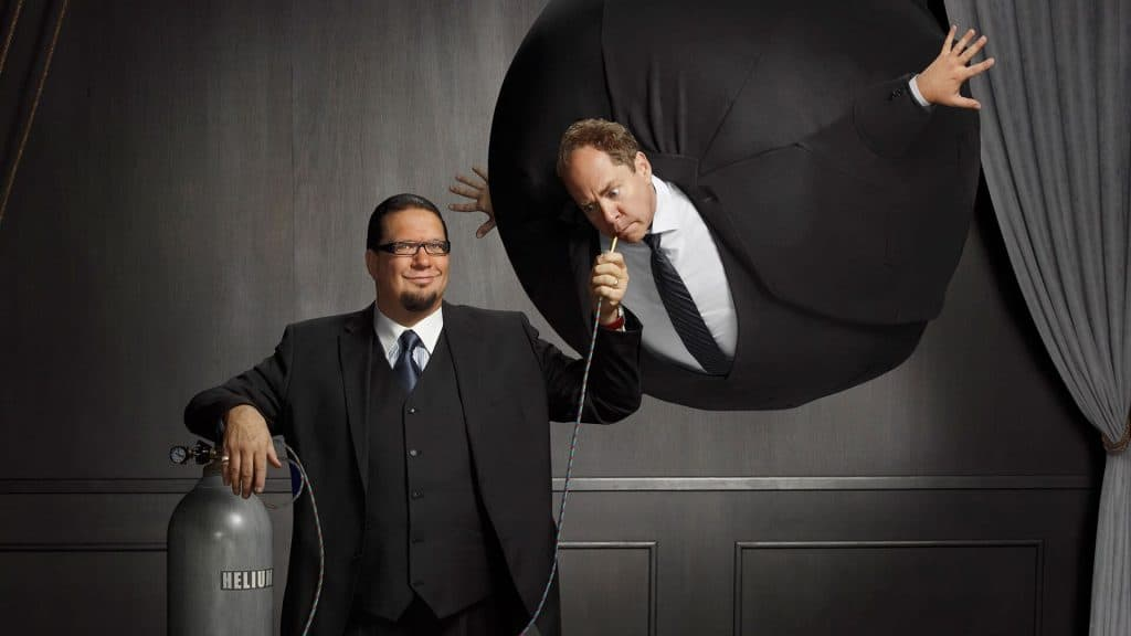 Penn & Teller - Comedy Shows in Las Vegas