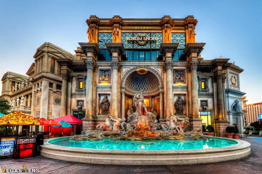 The Forum Shops - Romantic places in Las Vegas
