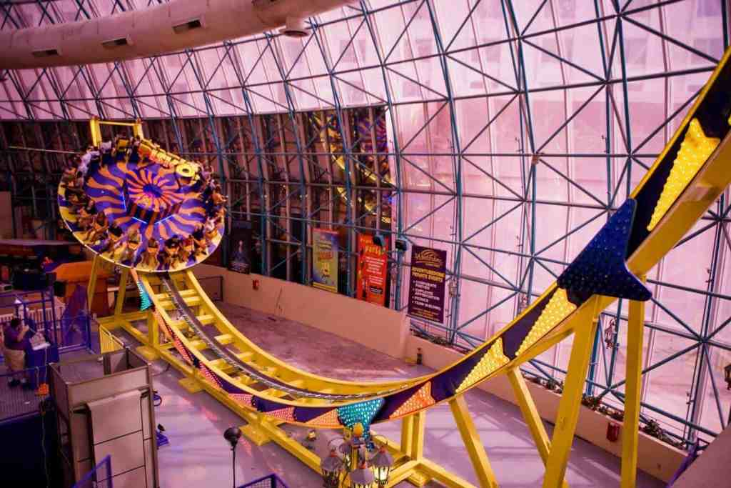 Disk 'O Ride at The Adventuredome - Things to do in Las Vegas on the Strip