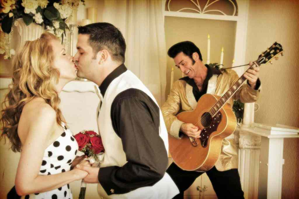 Elvis Wedding at Graceland Wedding Chapel - Las Vegas Wedding Packages