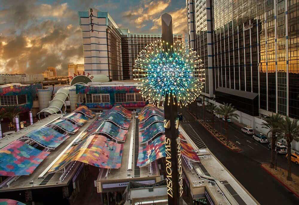 Swarovski Starburst - Things to do in Las Vegas Strip