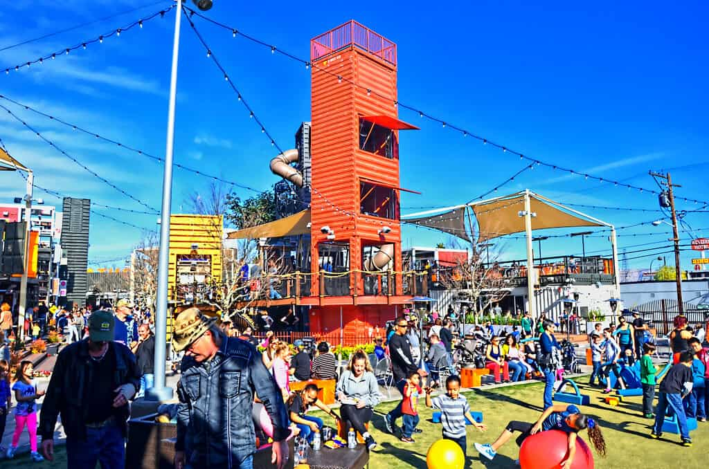Downtown Container Park - Kids Activities in Las Vegas