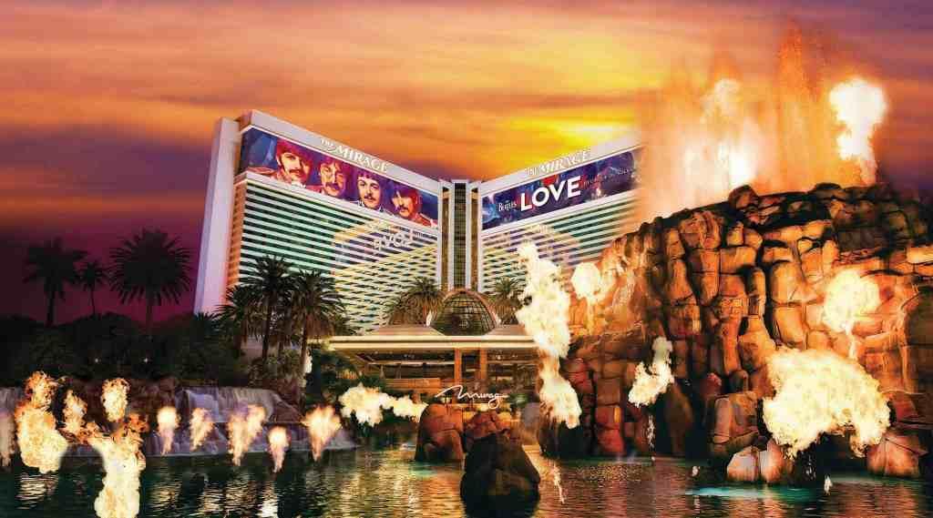 Mirage Hotel Volcano - Kids Activities in Las Vegas