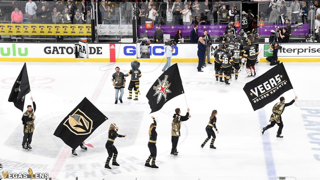 Watch the Vegas Golden Knights Hockey Game - Bachelor party in Vegas