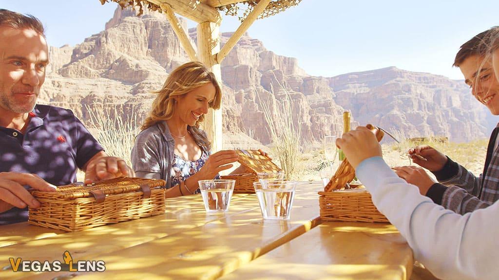 Grand Canyon Picnic with Limo