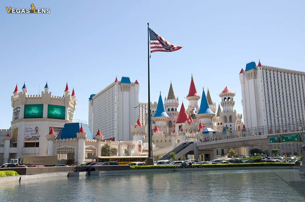 Excalibur Hotel And Casino - Family friendly hotels in Las Vegas