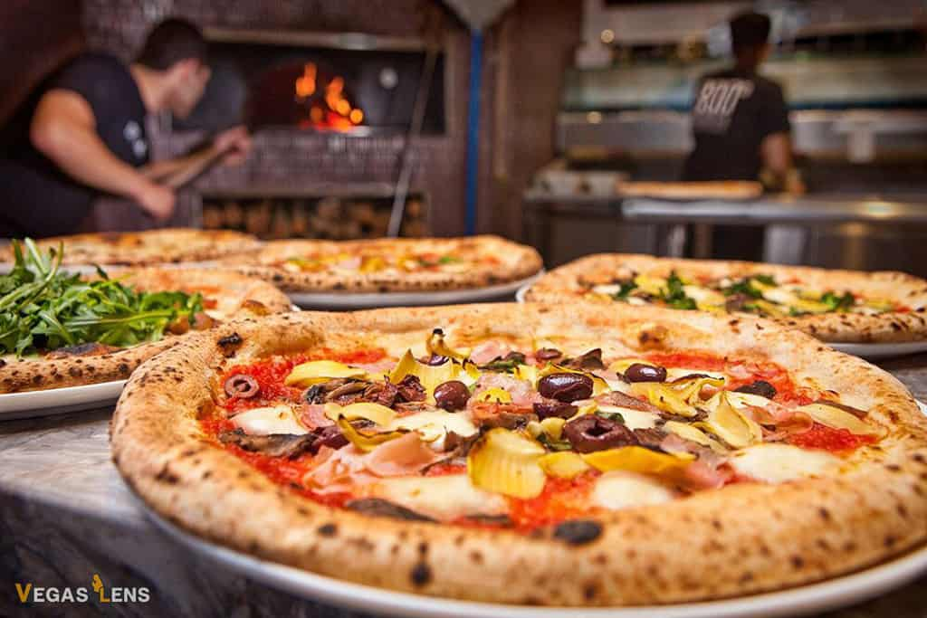 800° Degrees Pizza - Family restaurants in Las Vegas