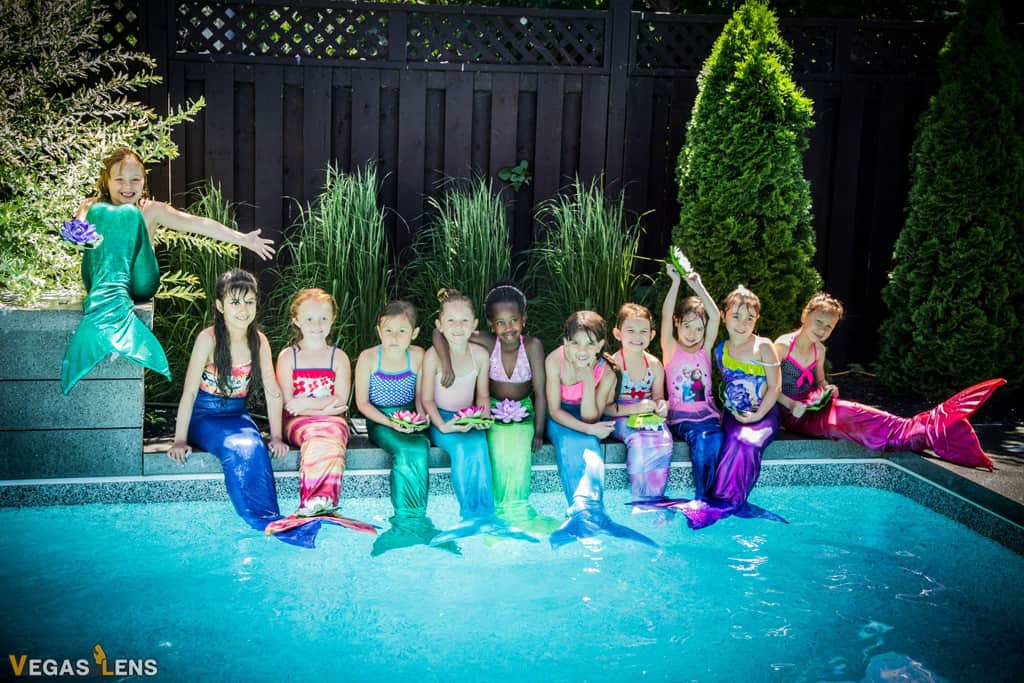 Aquamermaid Birthday Parties - Kids birthday party places in Las Vegas