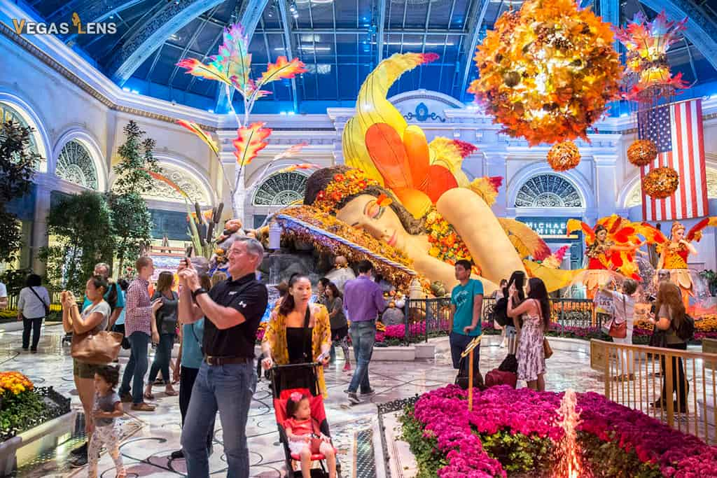 Bellagio Conservatory - Free things to do in Las Vegas with kids