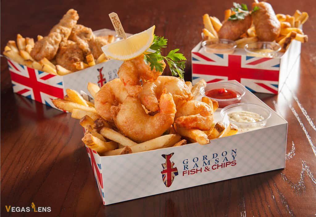 Gordon Ramsay Fish & Chips - Kid friendly restaurants in Las Vegas