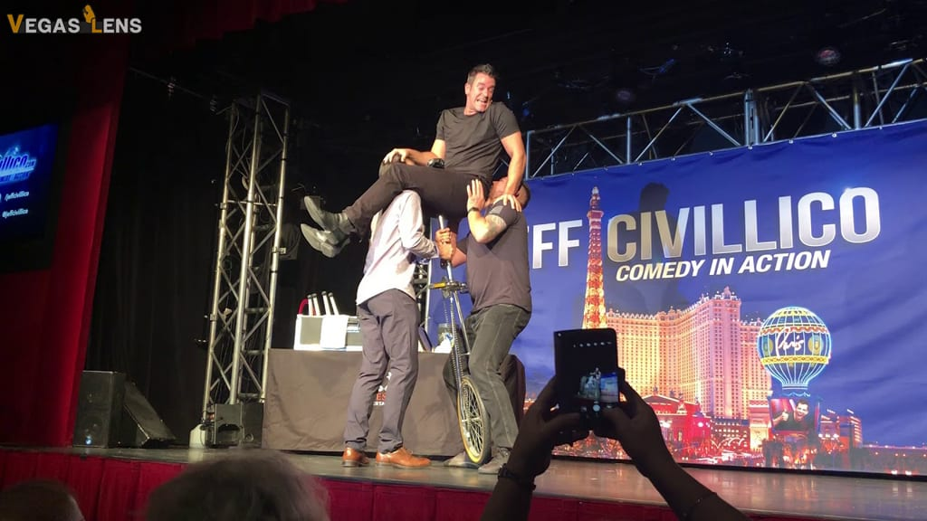 Jeff Civillico: Comedy in action - Las Vegas family shows