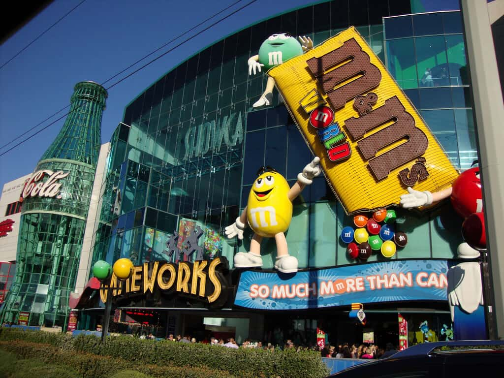 M&M's World - Fun Things to do in Las Vegas for Kids