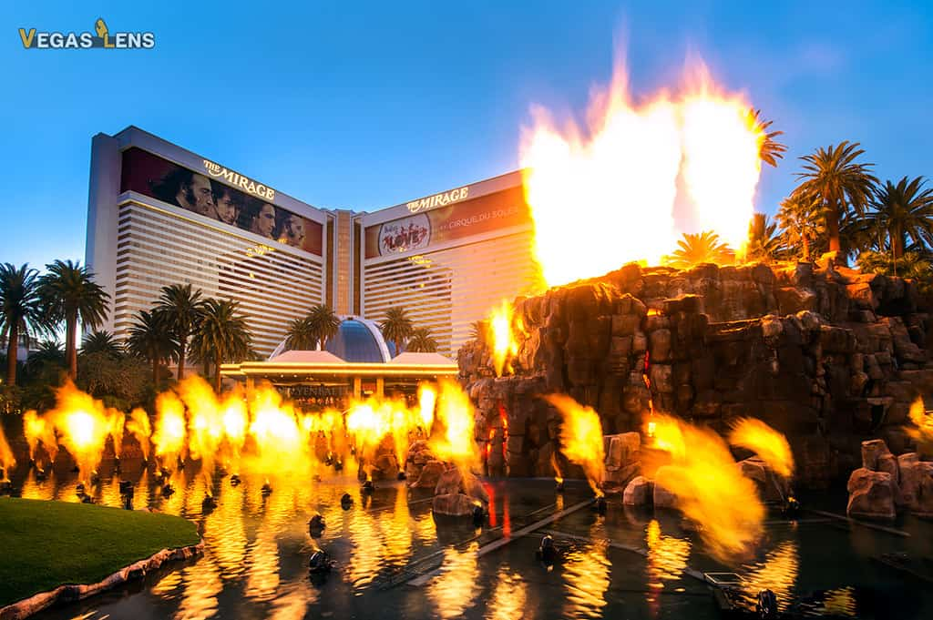 Mirage Erupting Volcano - Free things to do in Vegas with kids