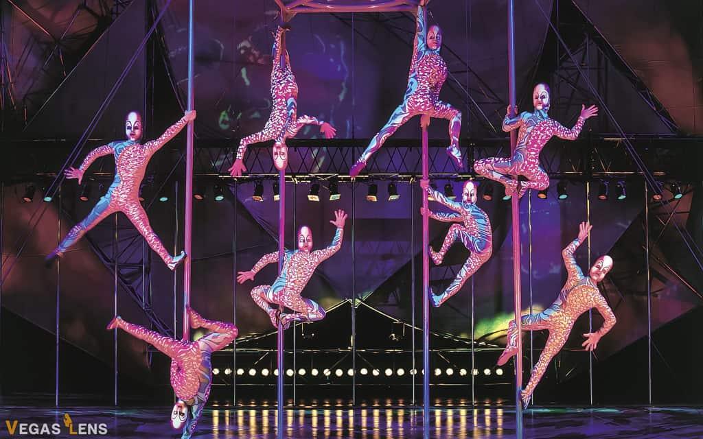 Mystere (Cirque du Soleil) - Family friendly shows in Las Vegas