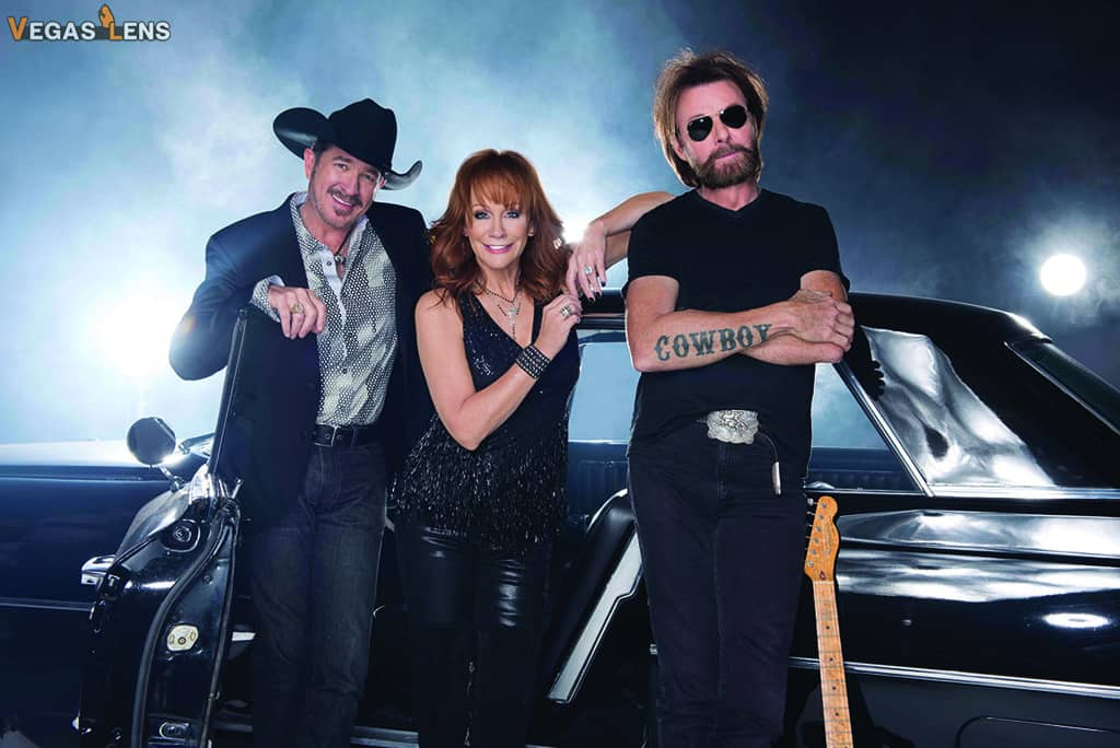 Reba, Brooks & Dunn - Las Vegas family shows