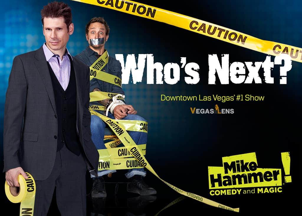 Mike Hammer - Magician in Las Vegas