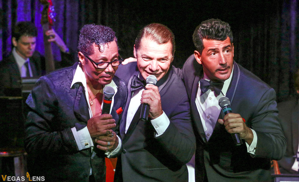 The Rat Pack is Back - Dinner shows in Las Vegas