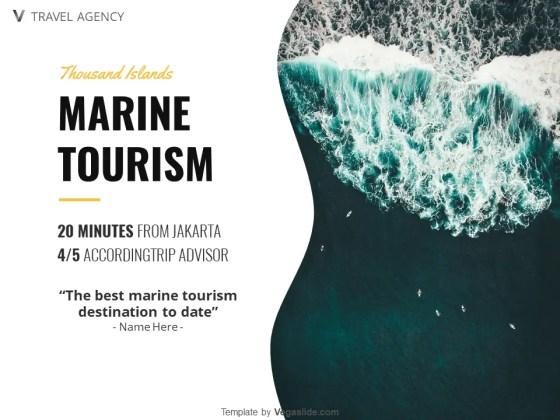 Marine Tourism PowerPoint Template