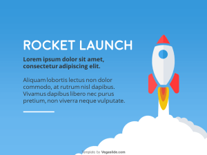 Rocket Launch PowerPoint Template