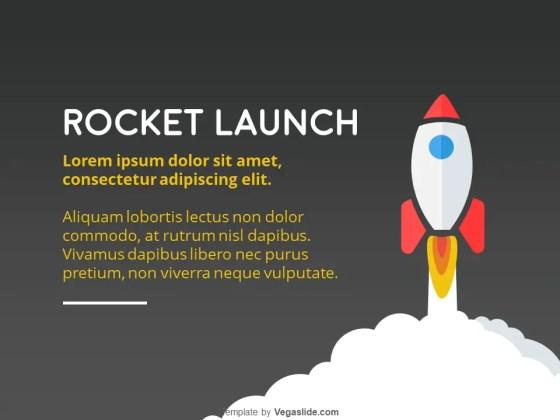 Rocket Launch PowerPoint Template