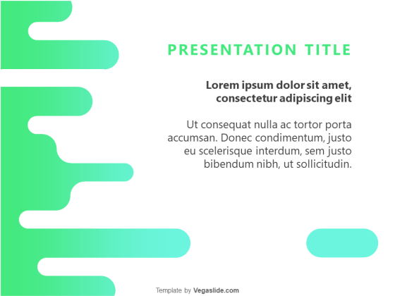 Animated Abstract Splash PowerPoint Template