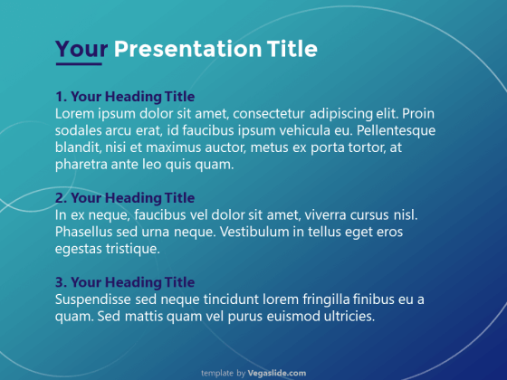 Digital Technology Theme PowerPoint Template