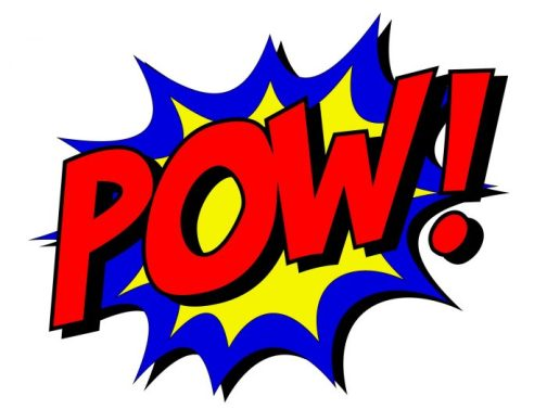 Superhero POW! It's free comic book day all summer