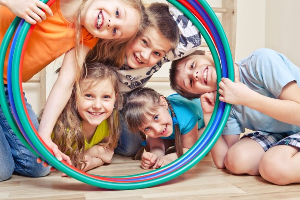 activities and resources for kids -hula hoop