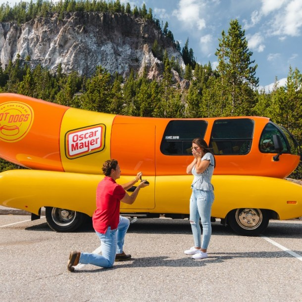 oscar mayer wienermobile for your proposal for free
