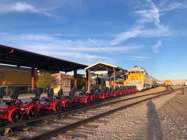 rail explorers las vegas at southern nevada railway