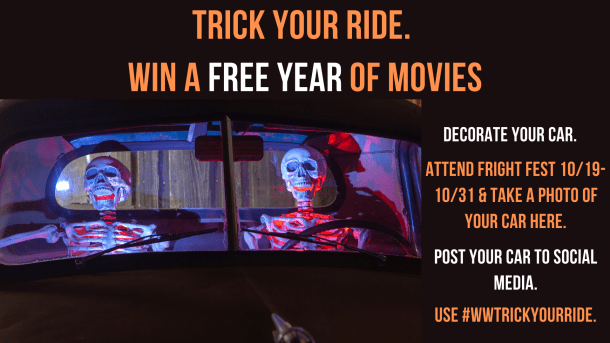 West wind trick your ride contest to win a year of free movies