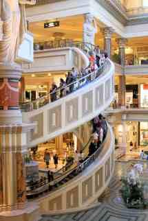 Caesars Palace Forum Shops Escalator