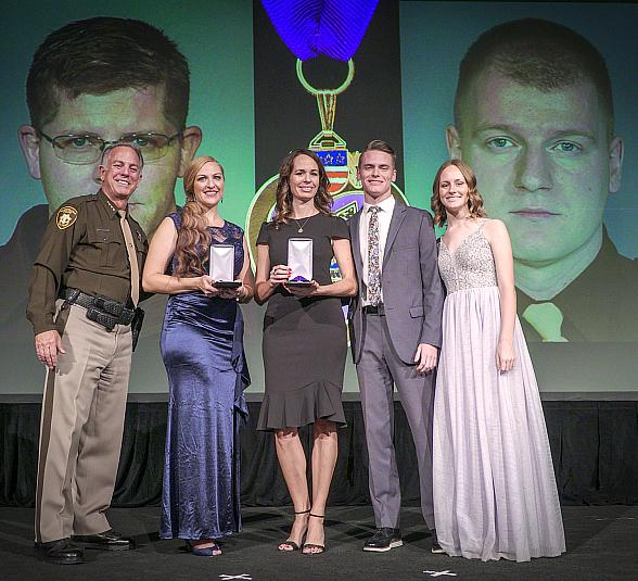 Community Comes Together for Seventh Annual Sheriff Salutes the Best of the Badge Gala as 70 Honorees Receive Medals