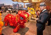 Matt Goss Welcomes The Year of the Dragon at Caesars Palace