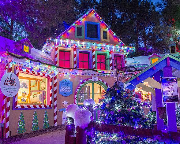 """Opportunity Village's """"Magical Forest"""" to Open with Tree Lighting Ceremony, Nov. 23; Santa Claus to Fly in from North Pole"""